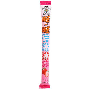 WANT WANT Frozen Tube Fruit Beverage strawberry flavor 2.75oz 旺旺 碎冰冰 草莓味 78ml