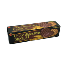 Load image into Gallery viewer, BOURBON Choco Digestive Biscuits brown sugar chocolate flavor 波路夢 消化纤维饼干 巧克力黑糖味 108g | 98Lot