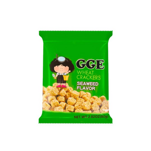 WEILIH Gge Wheat Cracker seaweed flavor 2.82oz 维力 张君雅小妹妹点心面 海苔味