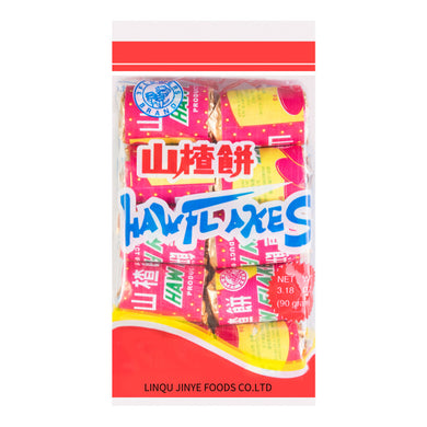 SUN-FLOWER BRAND Haw Flakers original flavor 3.17oz 向阳花 山楂饼 原味 90g