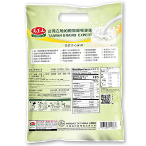 马玉山 燕麦薏仁浆 (12包入) 360g Keywords: Greenmax, oat & adlay cereal, drink mixes Related Keywords:nutrition food, powder, 五谷磨房, 秦老太