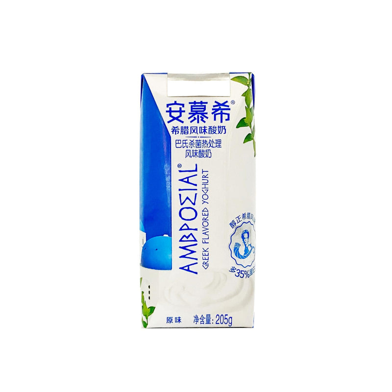 安慕希 希腊酸奶 单瓶 205g AMBROSIAL Greek Yogurt Drink 205g