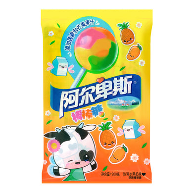 ALPENLIEBE Lollipop tropical fruit flavor 7.05oz 阿尔卑斯 棒棒糖 热带水果奶味 200g