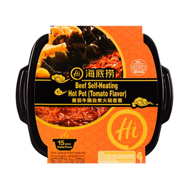 HAIDILAO Beef Self-Heating Hotpot tomato flavor 12.6oz 海底捞 番茄牛腩自热火锅套餐 357g 自嗨锅