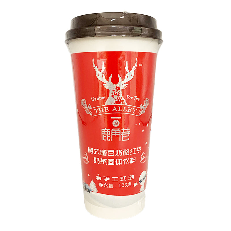 鹿角巷 意式蜜豆奶酪红茶 123g THE ALLEY Milk Tea - Creamy Red Bean & Black Tea 4.33oz