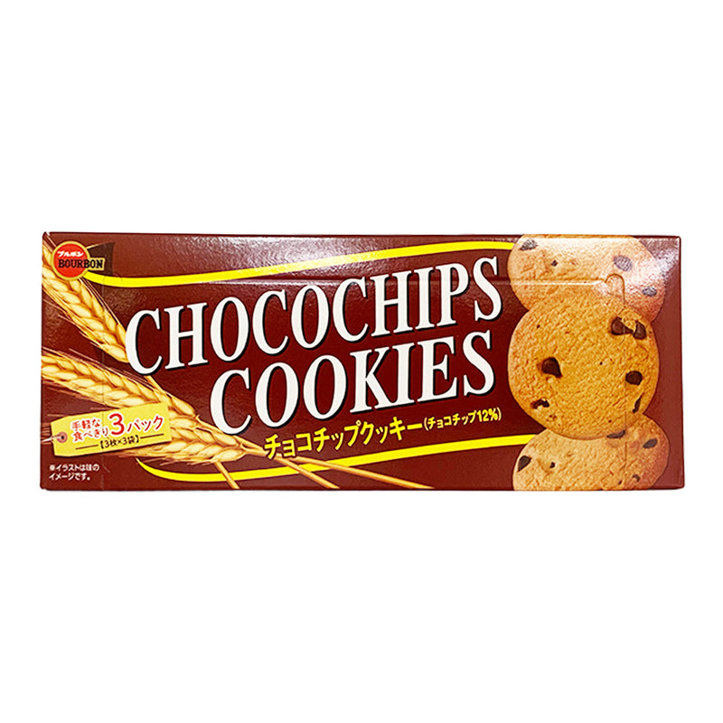 波路夢 巧克力曲奇饼干 106g BOURBON Choco Chips Cookies 1.48oz