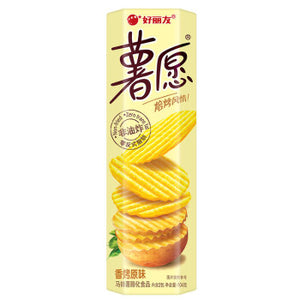 ORION Non-fried Potato Chips original flavor 3.67oz 好丽友 薯愿非油炸薯片 原味