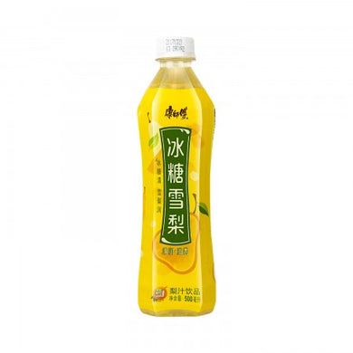 MASTER KONG Rock Sugar Pear 16. 9fl.oz 康师傅 冰糖雪梨 500ml