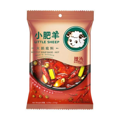 小肥 羊火锅底料 辣汤Keywords: Little Sheep, hotpot soup base,spicy flavor,base & seasoning