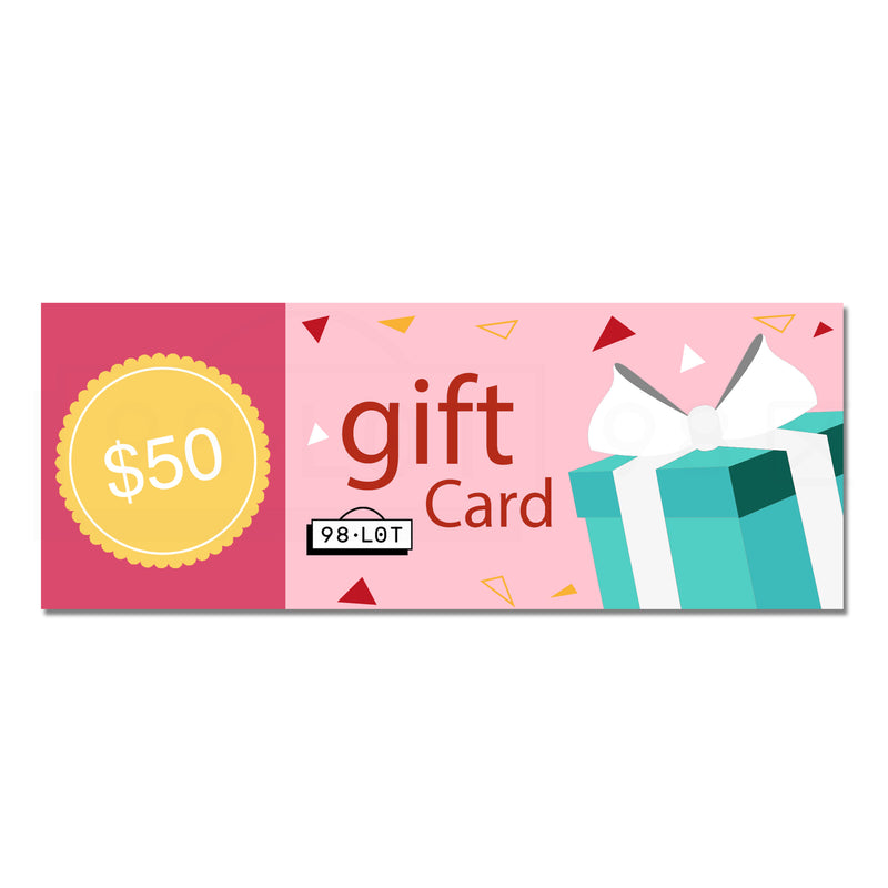 $50 Giftcard——限时特价$45