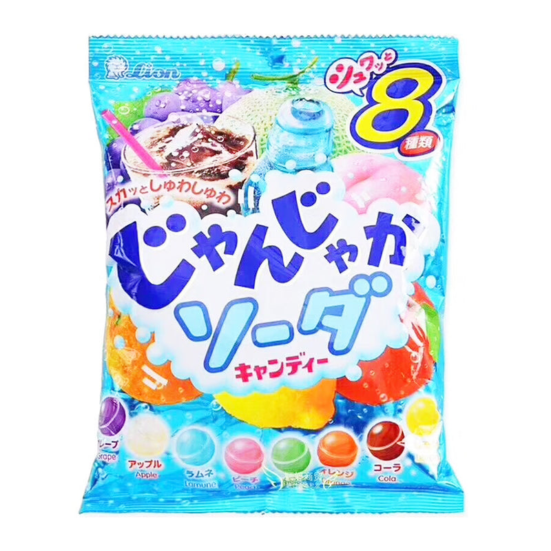 狮王 碳酸水果糖 152g LION Soda Candy 10.62oz