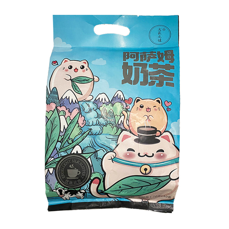 七彩之谜 阿萨姆奶茶粉 (40包装) 800g  COLORFUL PUZZLE Assam Milk Tea Powder 28.2 oz