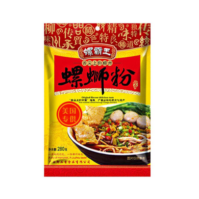 LUOBAWANG Luosi Rice Noodles original flavor 9.87oz 螺霸王 螺蛳粉 280g