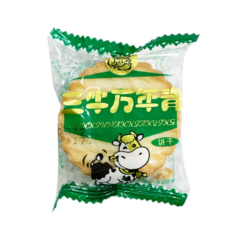 三牛牌 万年青饼干 (5袋裝) 15g SANNIU Evergreen Biscuit Original Flavor 0.53oz