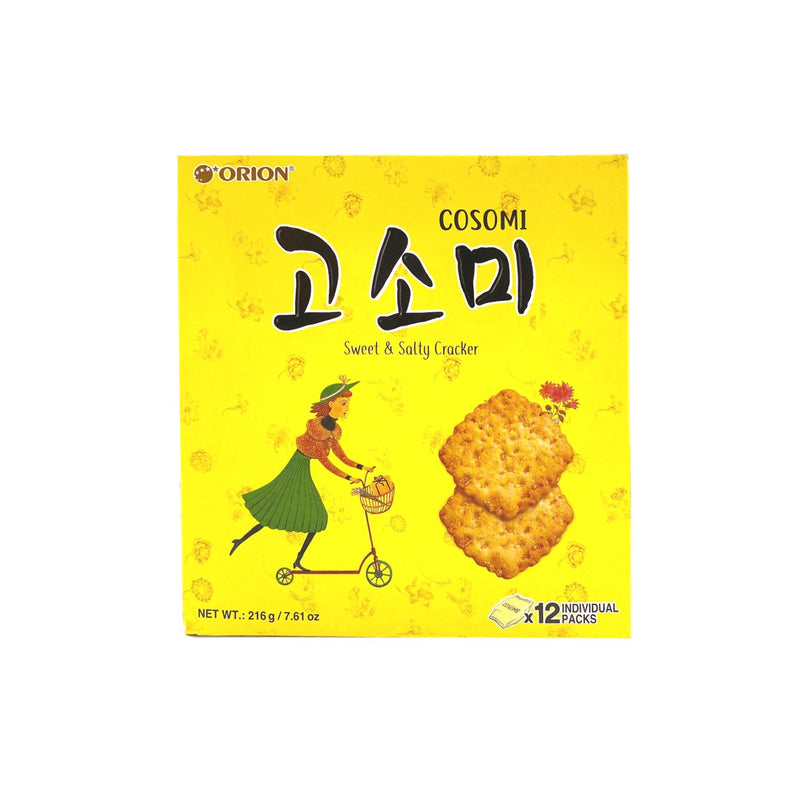 好丽友 高笑美芝麻饼干 (8包入) 280g ORION Cosomi Sesame Crackers (8 count) 11.29oz