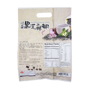 马玉山 山药黑芝麻糊 (12包入) 360g Keywords:Greenmax, black sesame cereal with yam, drink mixes Related Keywords:nutrition food, powder, 五谷磨房, 秦老太