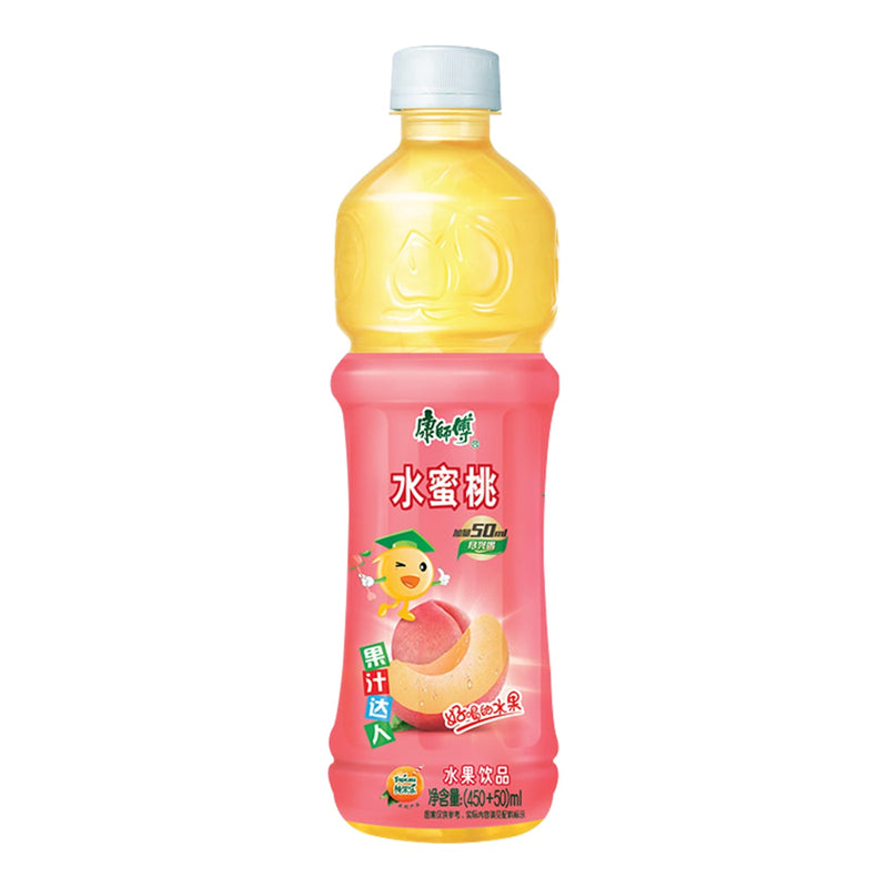 康师傅 水蜜桃饮品 500ml MASTER KONG Peach Drink 16.9fl.oz