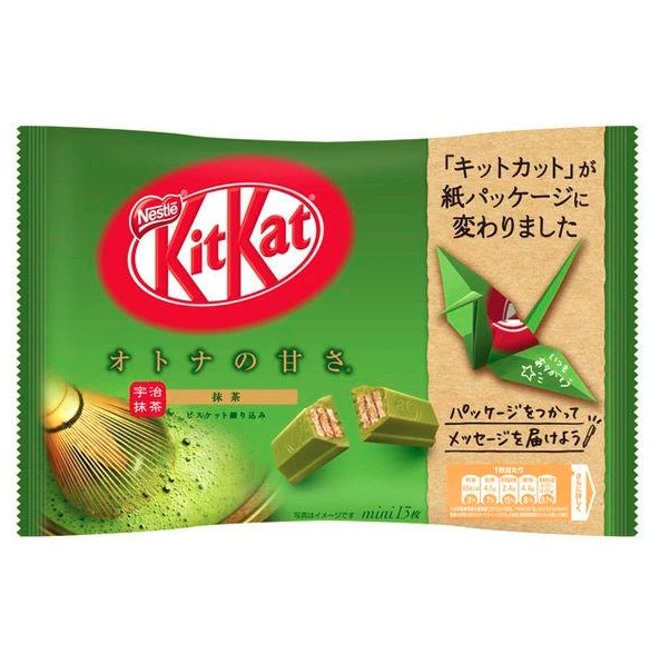 雀巢 威化巧克力 抹茶味 140g NESTLE KitKat Matcha Chocolate 4.94oz