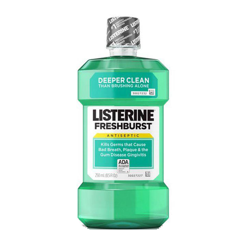 李施德林 清凉薄荷漱口水 薄荷味 250 ml LISTERINE Cool Mint Antiseptic Mouthwash 16.9 fl oz
