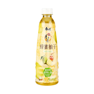 MASTER KONG Honey Pomelo Tea 16. 9fl.oz 康师傅 蜂蜜柚子茶 500ml