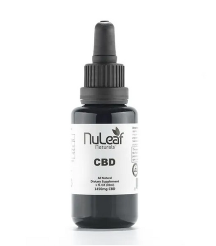 NuLeaf Organic Full Spectrum Oil Tinctures