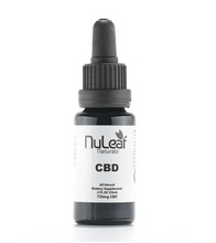 Load image into Gallery viewer, NuLeaf Organic Full Spectrum Oil Tinctures - cbdvaultbowie