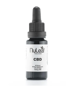 NuLeaf Organic Full Spectrum Oil Tinctures - cbdvaultbowie
