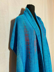 Eastern Bluebird Mini Shawl - Sydney Sogol, Wearable Art, Mini Shawls, eastern-bluebird-mini-shawl,