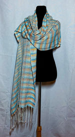 Load image into Gallery viewer, Kingfisher Blanket Scarf 2 - Sydney Sogol