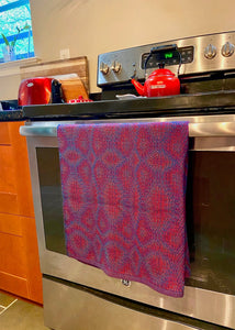 Covid Experiment 3 Oversize Kitchen Towels - Sydney Sogol, Handmade Home, covid-experiment-oversize-kitchen-towels, table square, towel
