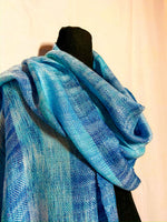 Load image into Gallery viewer, Blue breasted Kingfisher Mini Shawl