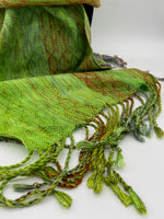 Load image into Gallery viewer, Nicobar Pigeon- Bright Green - Sydney Sogol, Classic Scarves, nicobar-pigeon-bright-green,