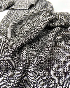 Classic Neutral- Black and White - Sydney Sogol, Classic Scarves, classic-neutral-black-and-white, scarf, tencel