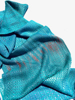 Load image into Gallery viewer, Monet Lillies Classic Scarf - Sydney Sogol, Classic Scarves, name-and-inveotry-needed, Classic scarf, eco-friendly scarf, scarf
