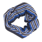 Load image into Gallery viewer, Vultute Gunea Fowl Infinity Scares-Black - Sydney Sogol, Infinity Scarves, vultute-gunea-fowl-infinity-scares-black, eco-friendly scarf, infinity scarf, night safe scarf, reflective scarf, sc