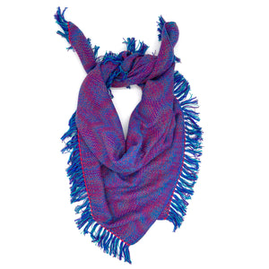 Purple-Throated Mountaingem Bandana- Crimson - Sydney Sogol, Infinity Scarves, purple-throated-mountaingem-bandana-crimson, Banadana, eco-friendly scarf, scarf, tencel scarf, vegan scarf