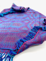 Load image into Gallery viewer, Purple-Throated Mountaingem Bandana- Crimson - Sydney Sogol, Infinity Scarves, purple-throated-mountaingem-bandana-crimson, Banadana, eco-friendly scarf, scarf, tencel scarf, vegan scarf