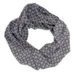 Load image into Gallery viewer, Praire Wheat  Infinity Scarf- Black - Sydney Sogol, Infinity Scarves, praire-wheat-infinity-scarf-black, eco-friendly scarf, infinity scarf, scarf, tencel scarf, vegan scarf
