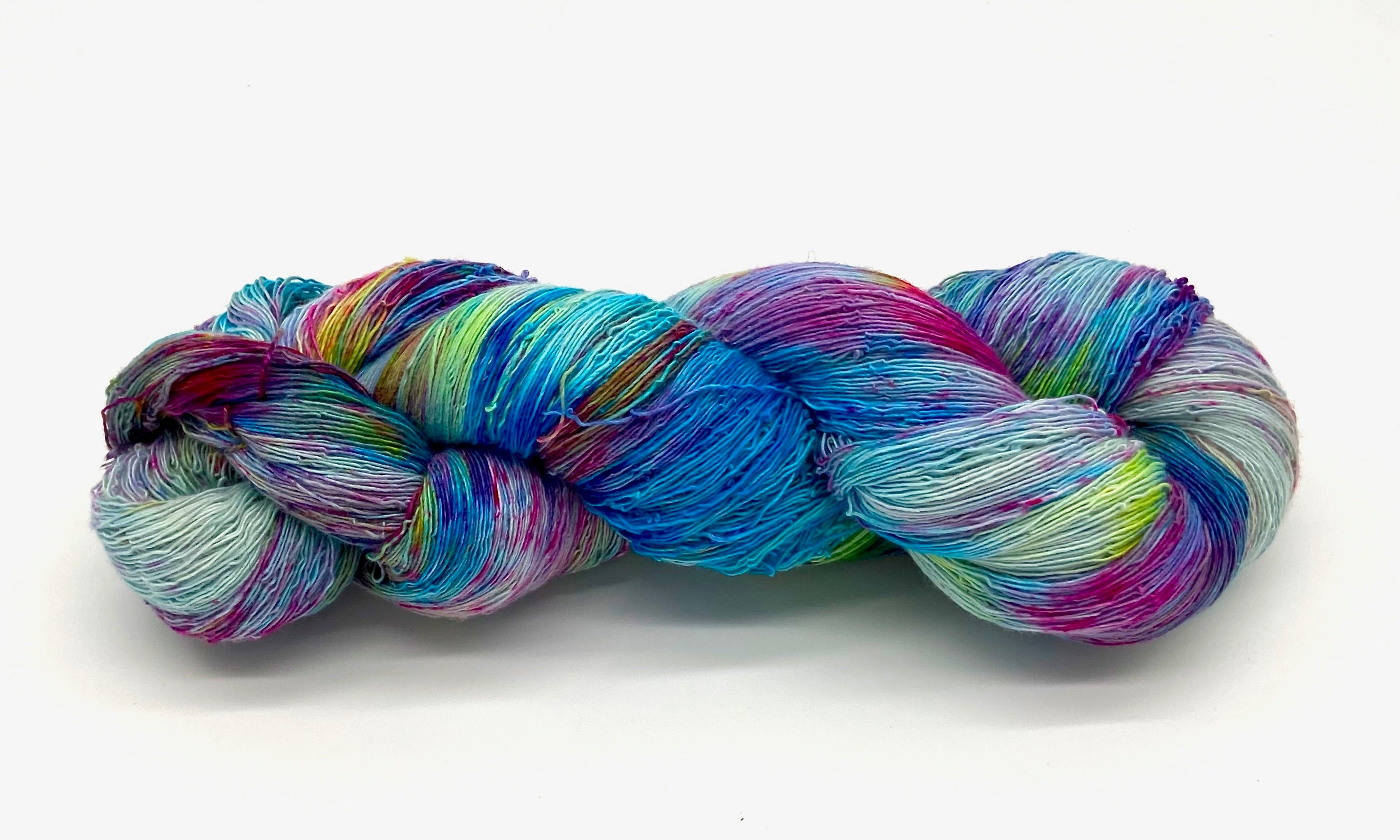 Hand Painted Organic Cotton Skeins - Sydney Sogol, Hand dyed Yarn, hand-painted-organic-cotton-skeins, hand dyed yarn, hand painted yarn
