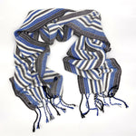 Load image into Gallery viewer, Vulture Guinea Fowl- White Reflective Scarf - Sydney Sogol