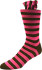 Bubble Blossom Men's Striped Socks