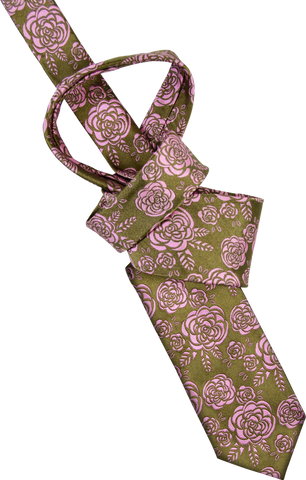 Bubble Blossom Men's Tie