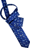 Cerulean Vines Men's Tie