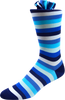 Clear Sky Men's Striped Socks