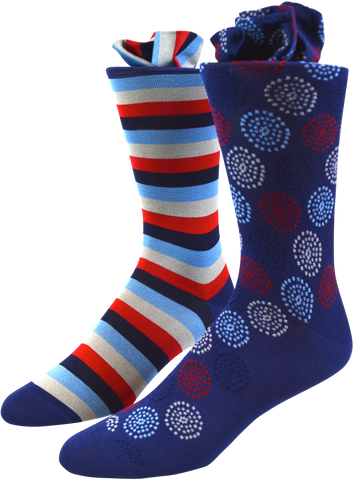 Dotted Dream Men's Socks