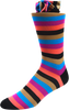 Falling Petals Men's Striped Socks