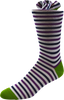 Garden of Eden Men's Striped Socks