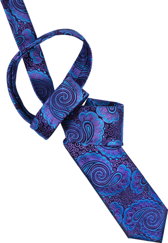 Ocean Waves Men's Tie