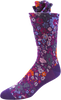 Pansy Bloom Men's Floral Socks