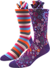 Pansy Bloom Men's Socks